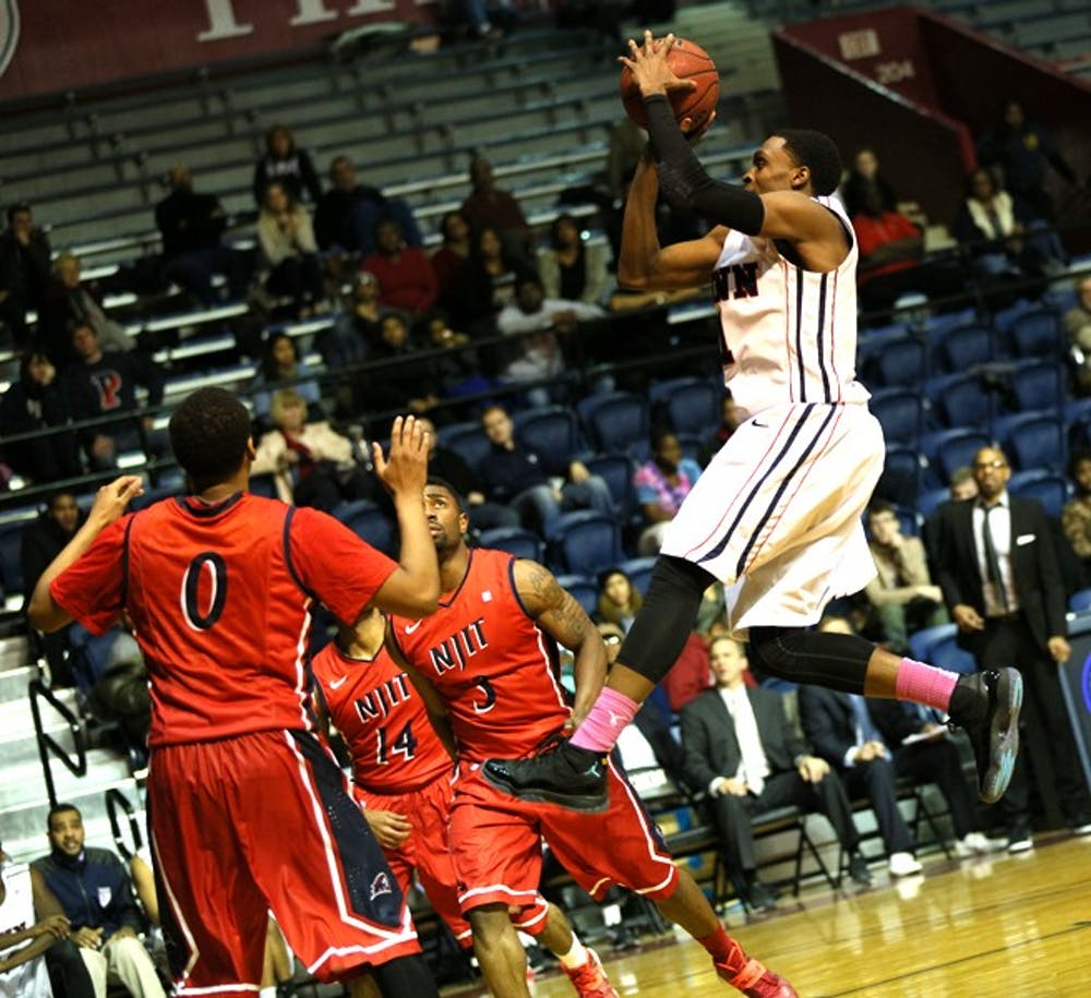 Men's Basketball defeated NJIT