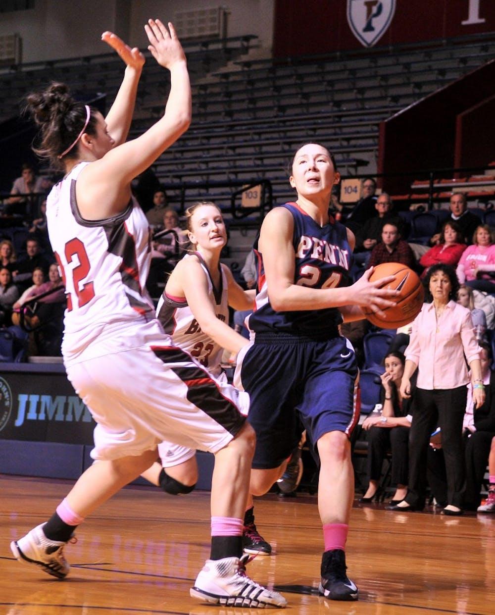 Women's Hoops victory over Brown