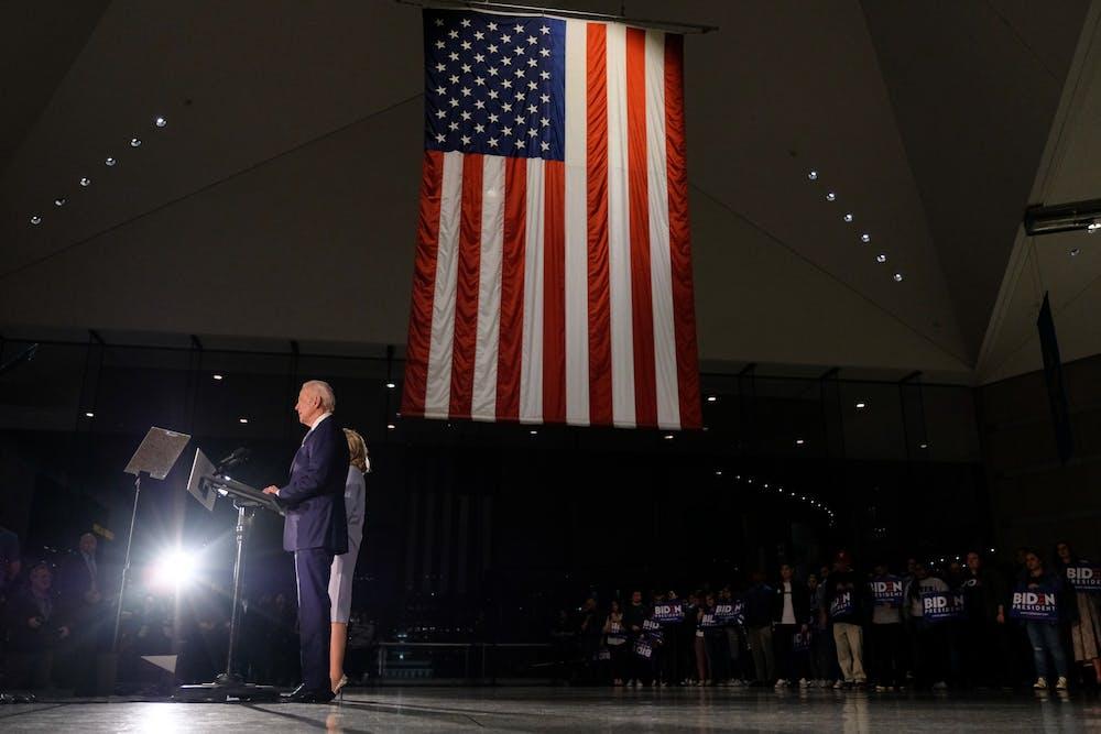 joe-biden-national-constitution-center-american-flag