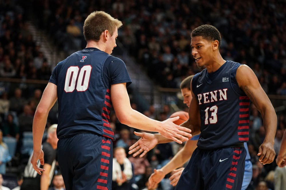 In his final year at Penn, Ryan Betley is wearing the number he has always wanted