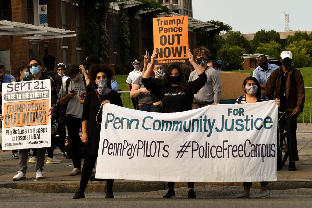 penn-community-for-justice-trump-pence-out-now