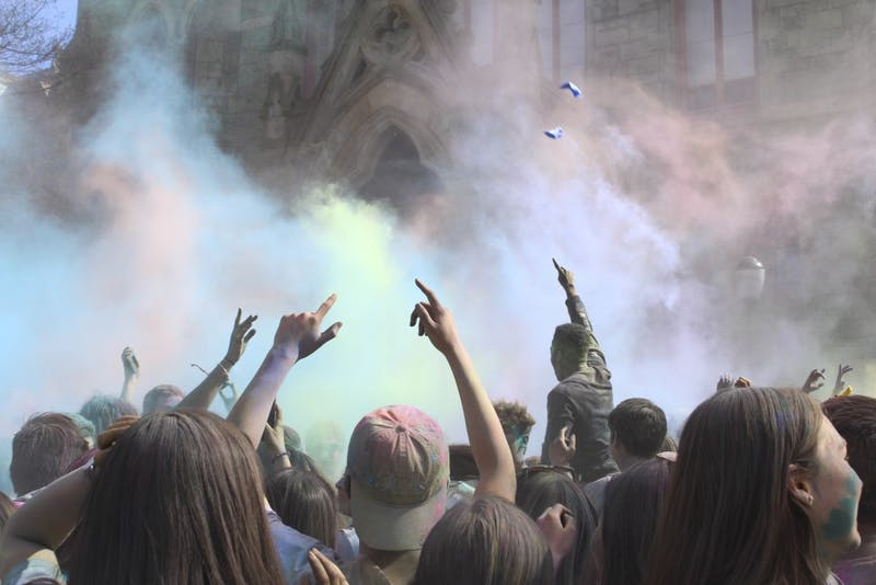 Penn Holi 2017: Celebrate Your Colors