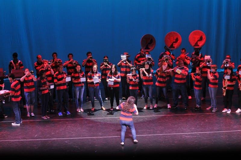 Freshman Performing Arts Night 2013