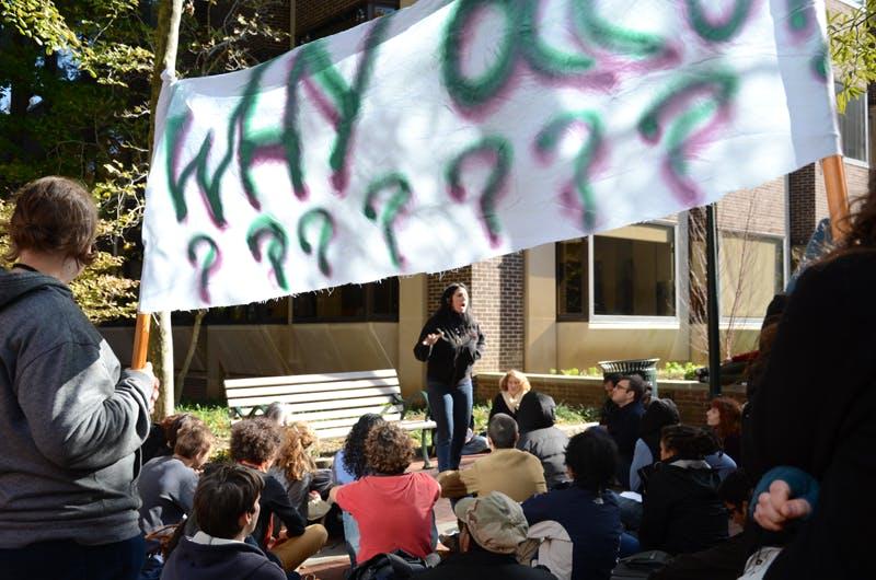 OccupyPenn teach-in