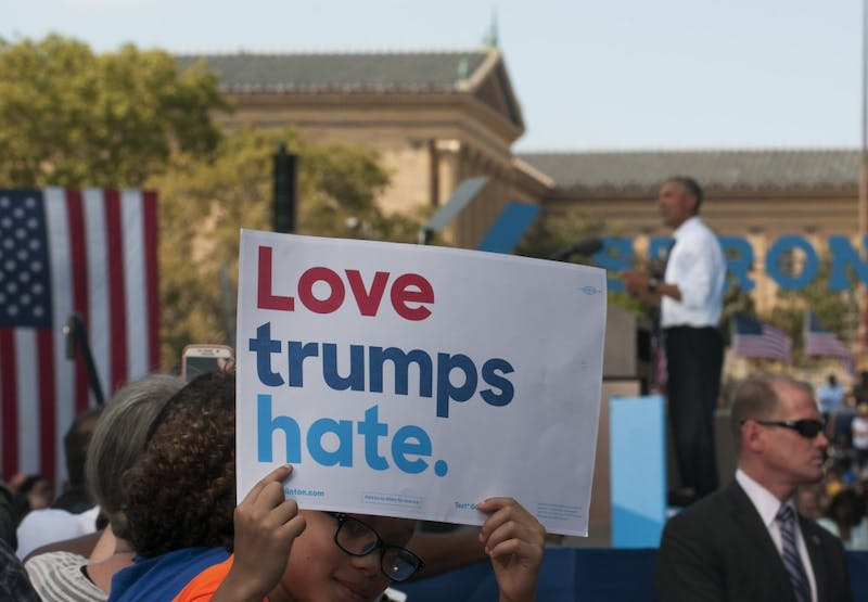 Photo gallery: Obama rallies in Philly for Hillary