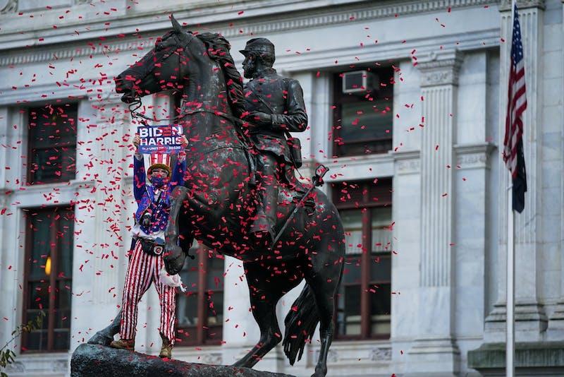 In Photos: Philadelphians rejoice in the streets as Pa. propels Biden to presidency