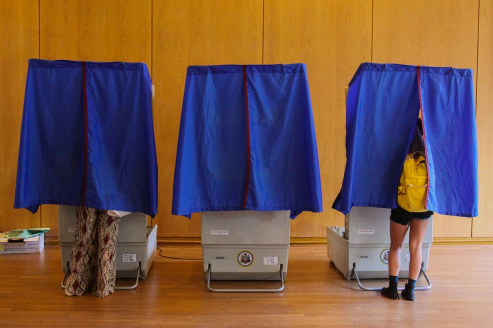 election-voting-booths