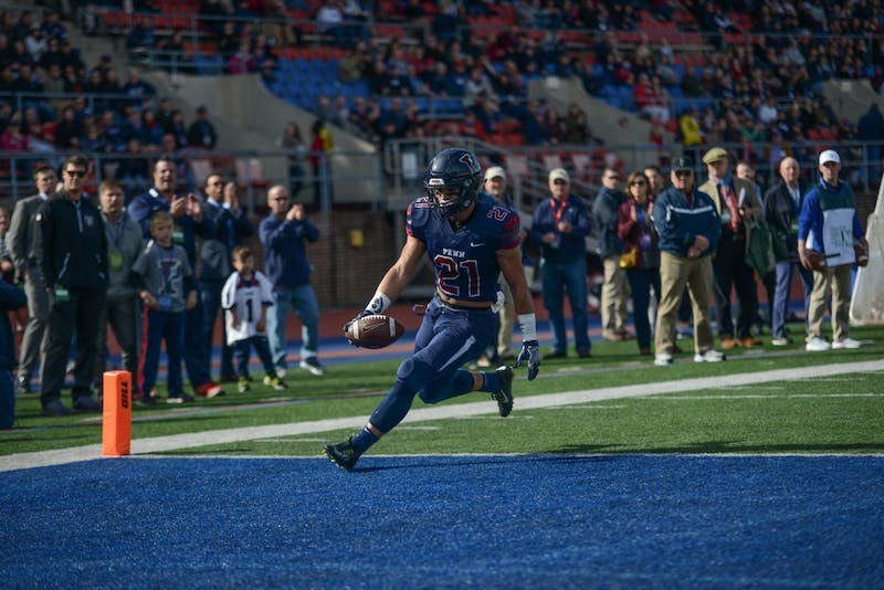 Penn triumphs over Princeton in thrilling Homecoming football win