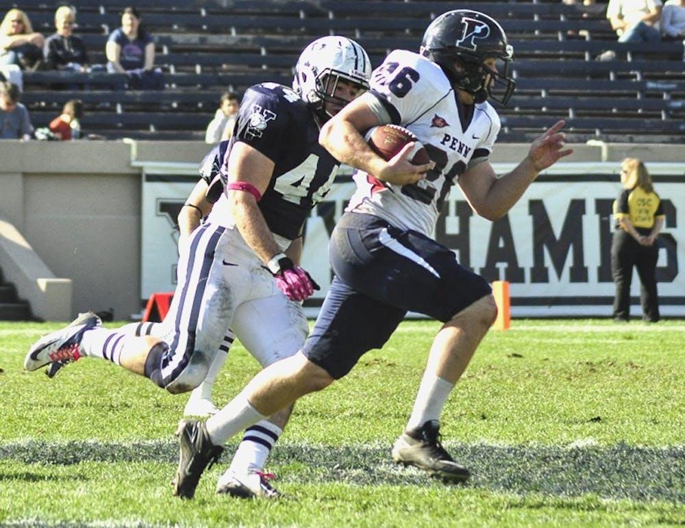 Upenn football falls to Yale, 27-13