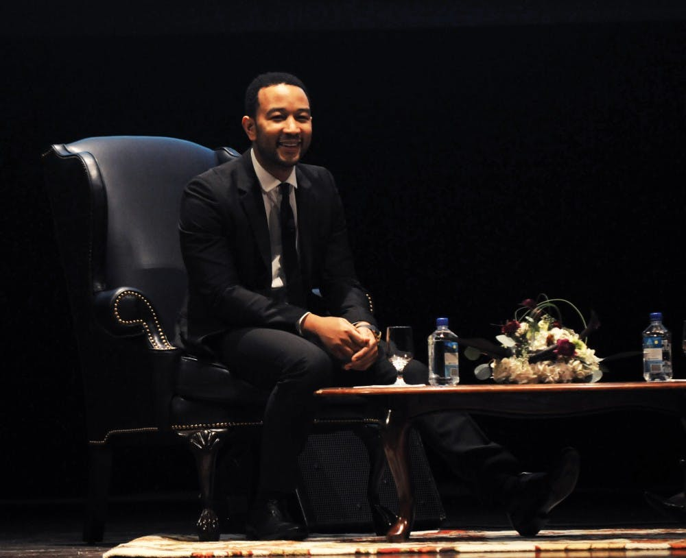 Penn graduate and nine-time Grammy Award-winning singer and musician JOHN LEGEND delivers the 12th Annual Reverend Dr. Martin Luther King, Jr. Lecture in Social Justice.