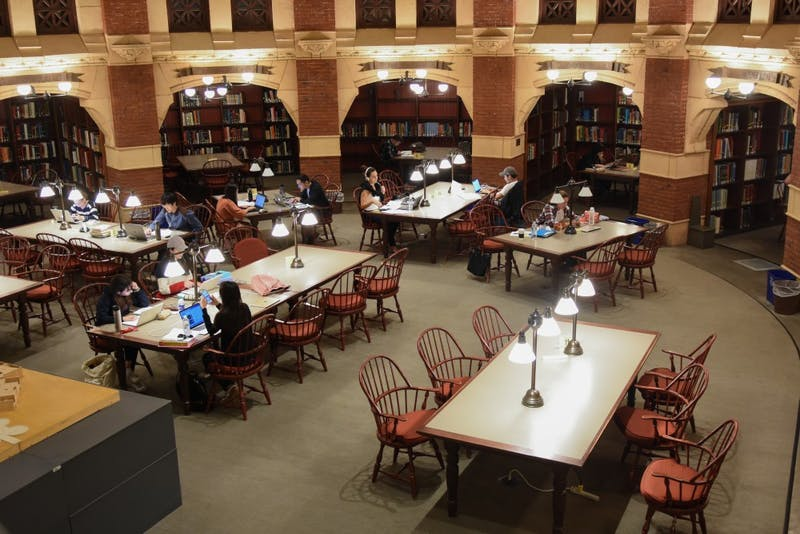 A look into some of the most beautiful places to study on Penn's campus