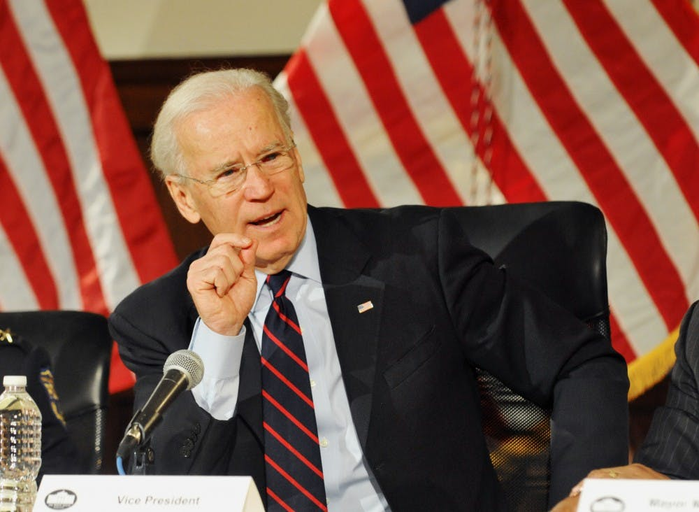 Joe Biden in Philly