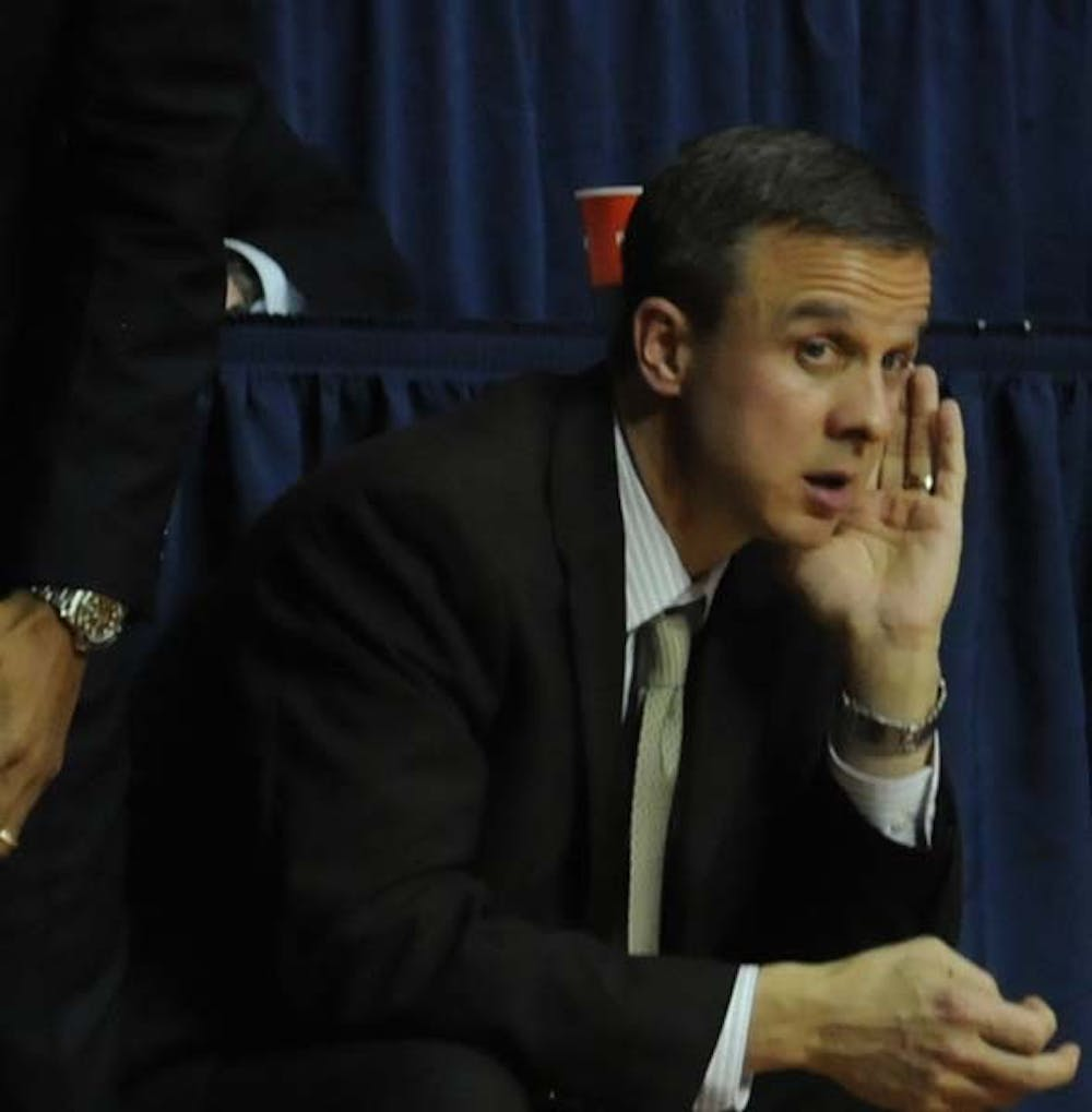 Men's Basketball lost to Drexel 59 - 61