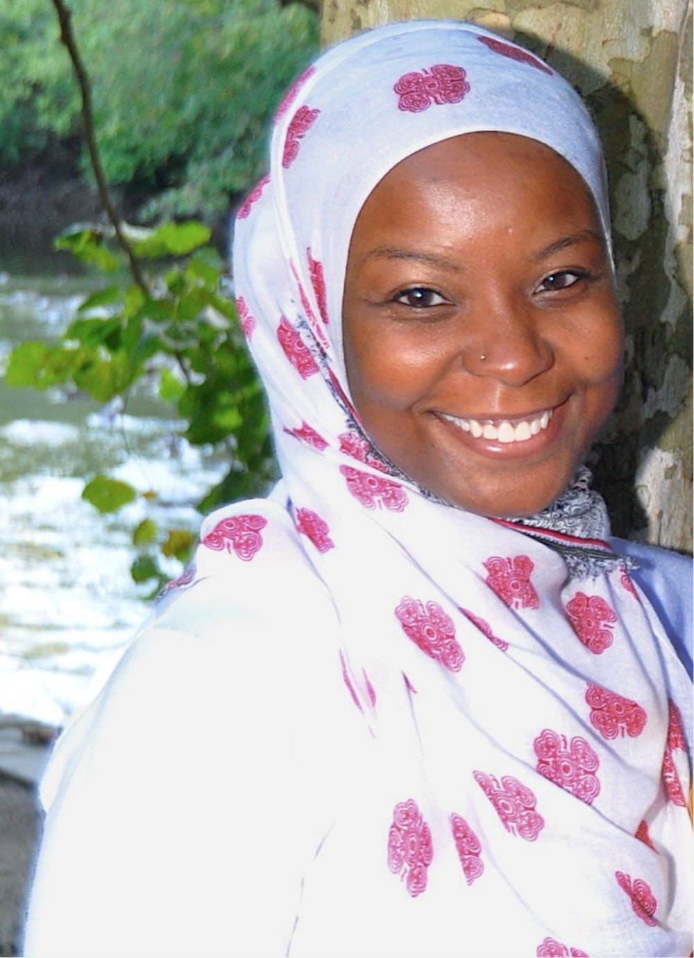 <p>Penn's Muslim Chaplain <strong>Kameelah Rashad</strong></p>