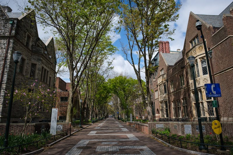 Photo Essay | Penn's once bustling campus, now vacant