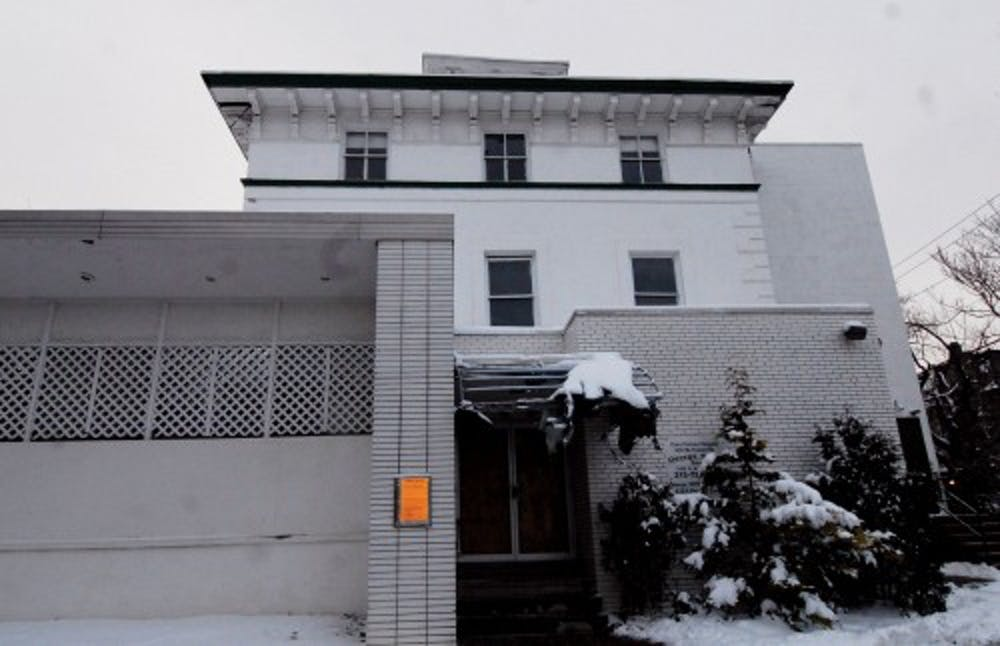 The historic mansion at 40th and Pine streets was demolished on August 22nd. | DP File Photo