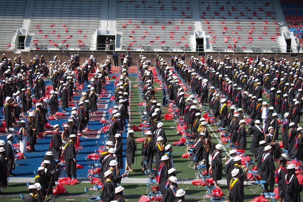 commencement-hey-day-hats-class-of-2021-franklin-field