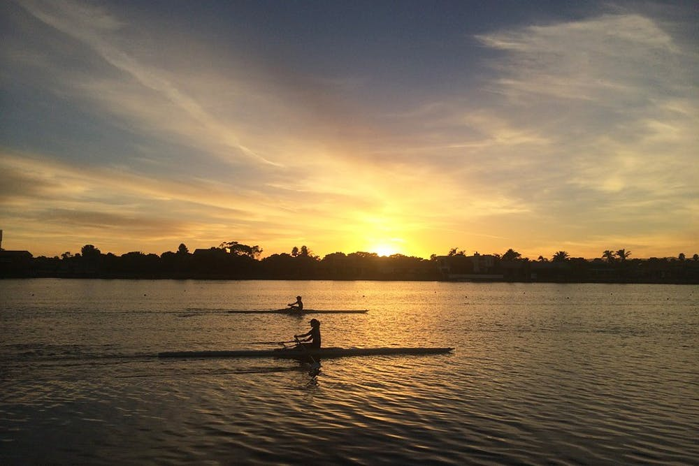 Rowing_Sunrise