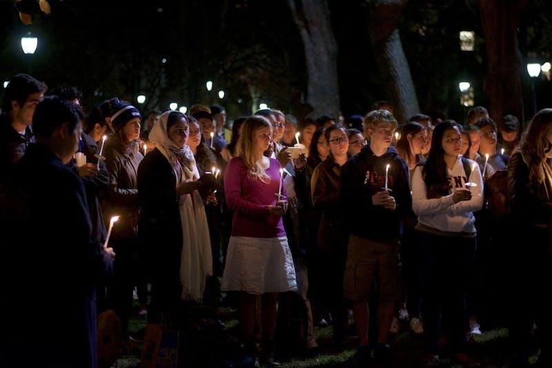 A Recap in Photos: Candlelight Vigil