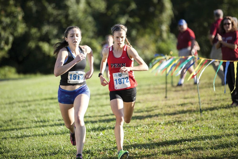 Cleo Whiting will be one of several distance runners hoping to help Penn track build off its performance at Lehigh last weekend at the Princeton Invitational on Saturday.