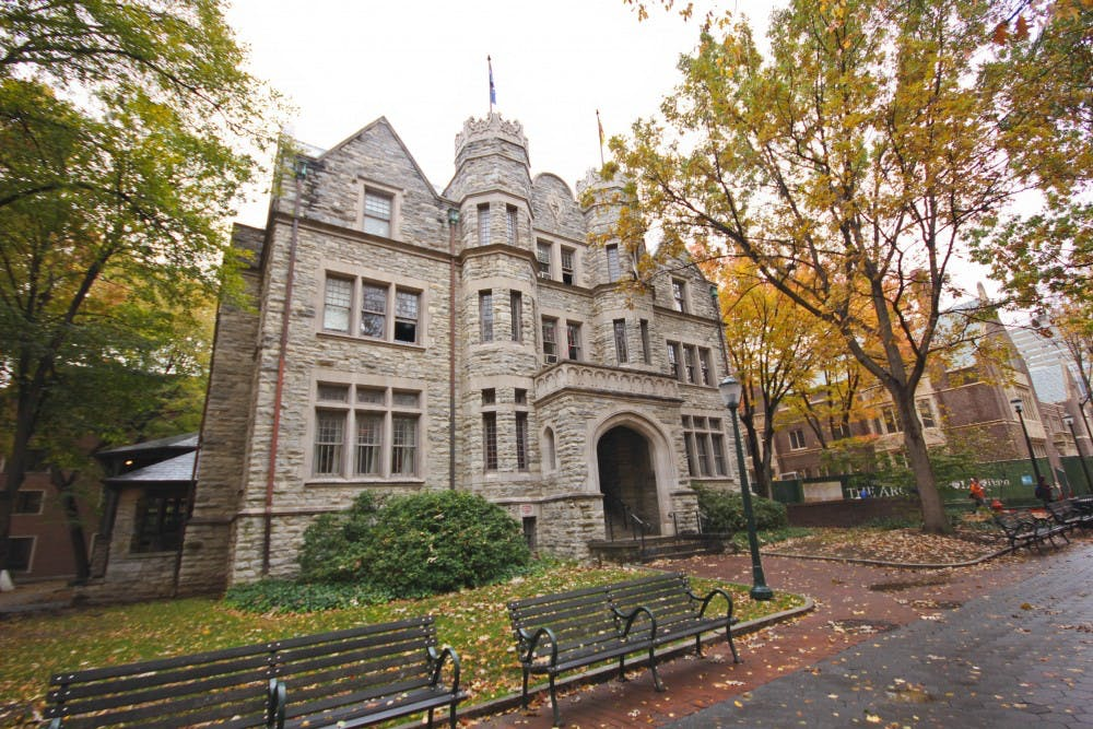 A possible arson was reported at the Psi Upsilon house on Oct. 23rd. | DP File Photo