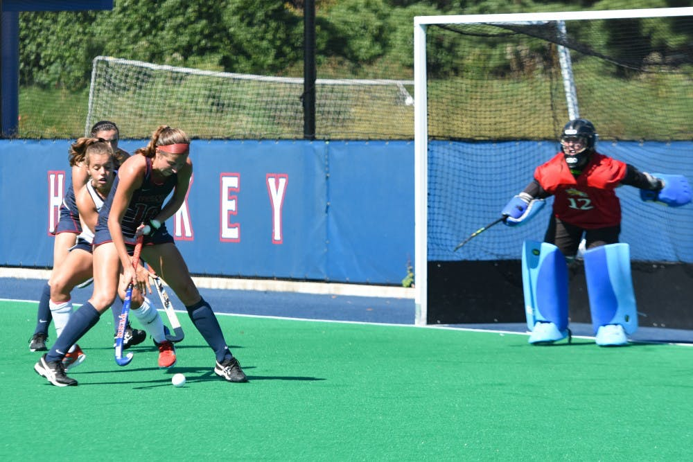Penn Field Hockey Enters Lone Road Back To Back This Weekend The