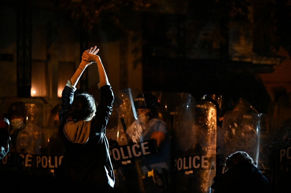 west-philadelphia-protest-civil-unrest-walter-wallace-shooting-police-hands-up-dont-shoot