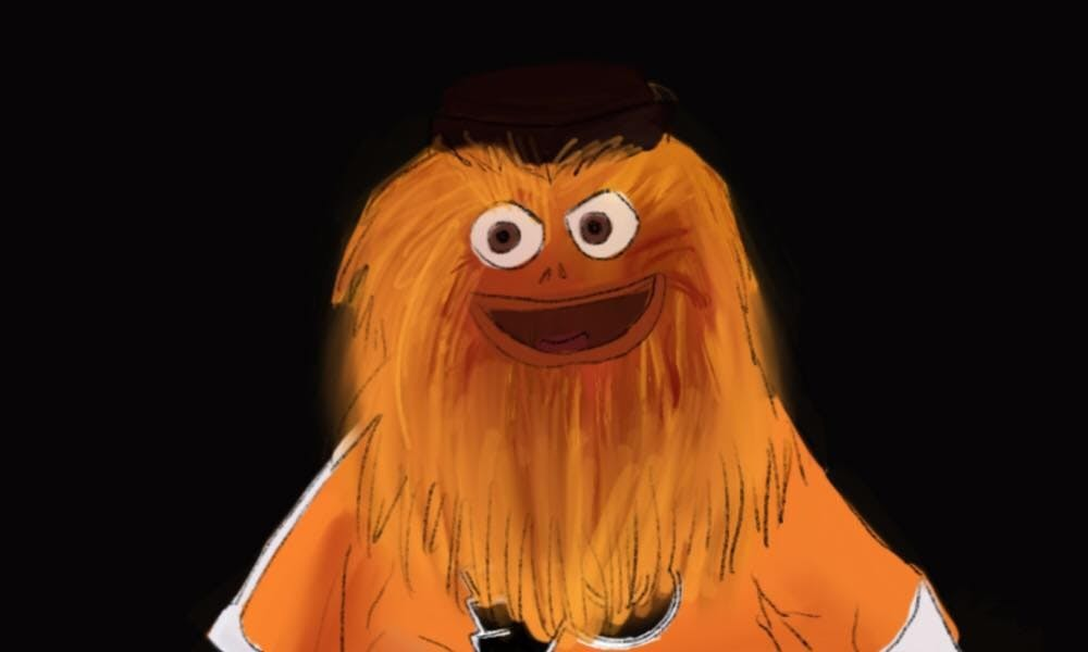 The Philadelphia Flyers New Mascot Shocked The World Now Gritty Is Officially Being Honored By The City Council The Daily Pennsylvanian
