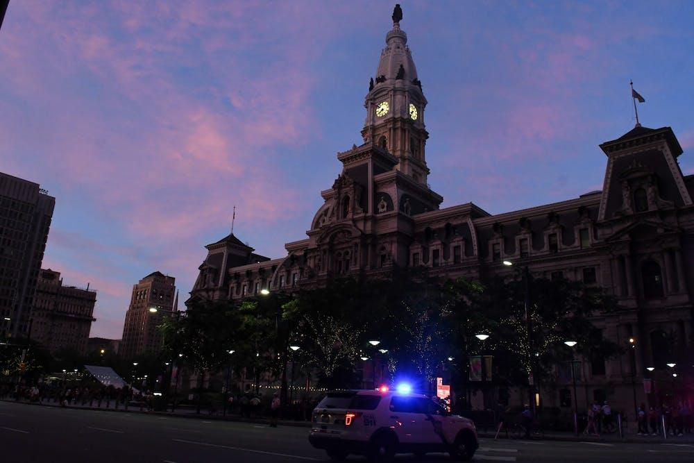 sunset-city-hall-police-car-curfew