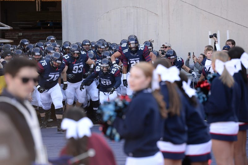Photo feature: Penn football beats Cornell, clinches share of Ivy title