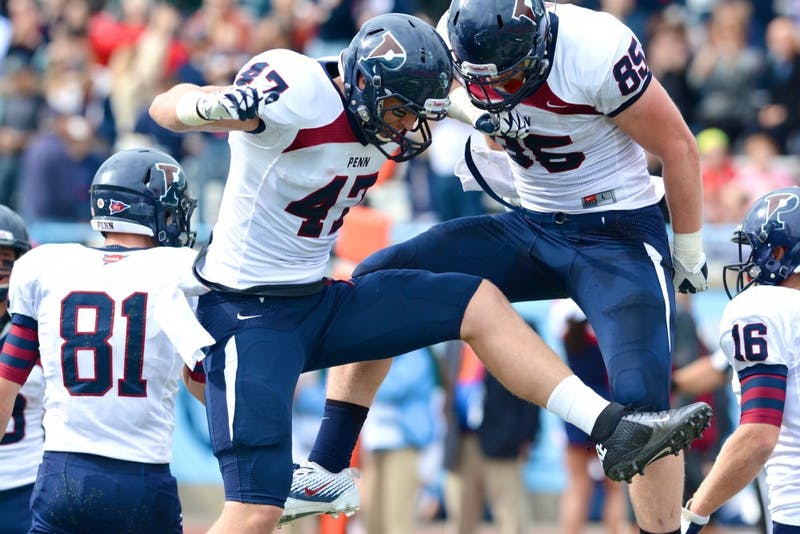 Penn football defeats Columbia, 21-7