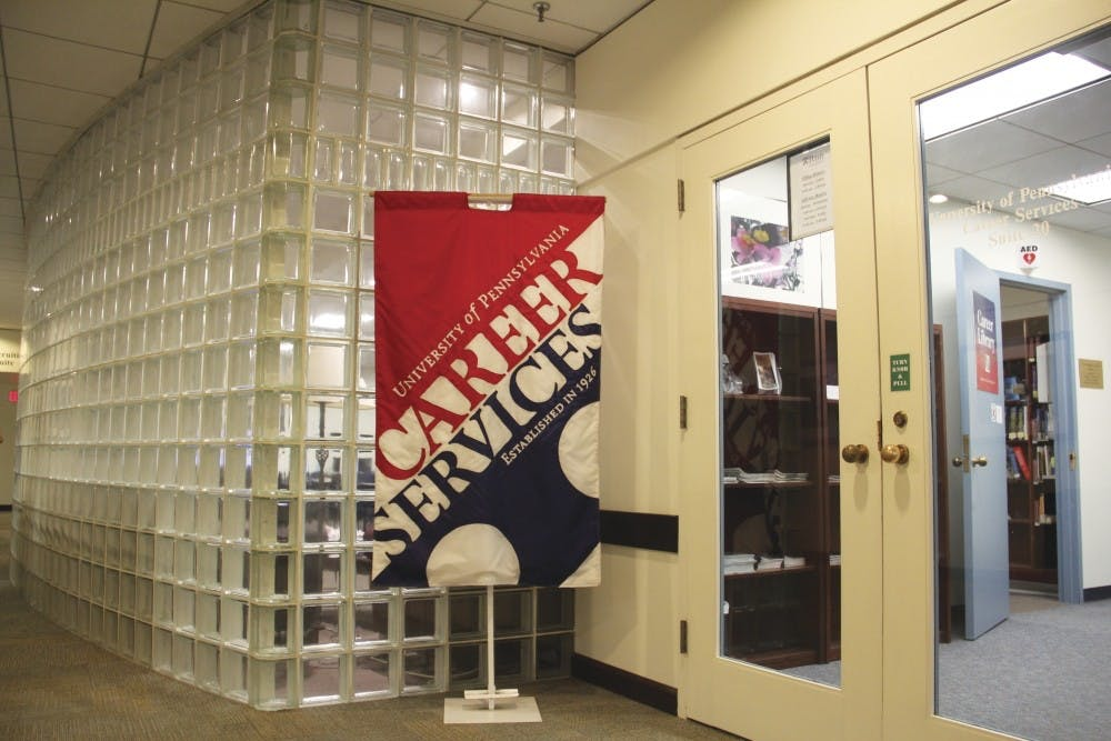 Most Penn students graduate with offers for a full-time job