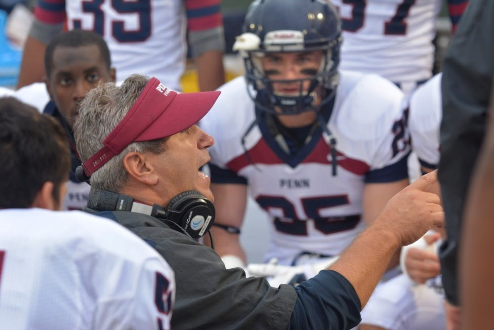 New head coach Ray Priore will look to lead Penn back to the top of the Ivy League after a 2-8 finish in 2014.