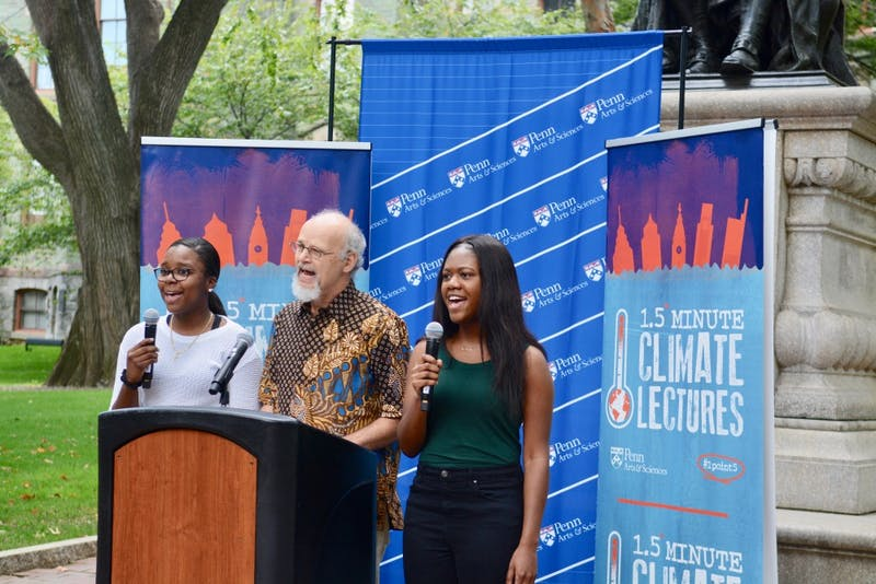 Penn professors discuss global warming in '1.5* Minute Climate Lectures' - The Daily Pennsylvanian