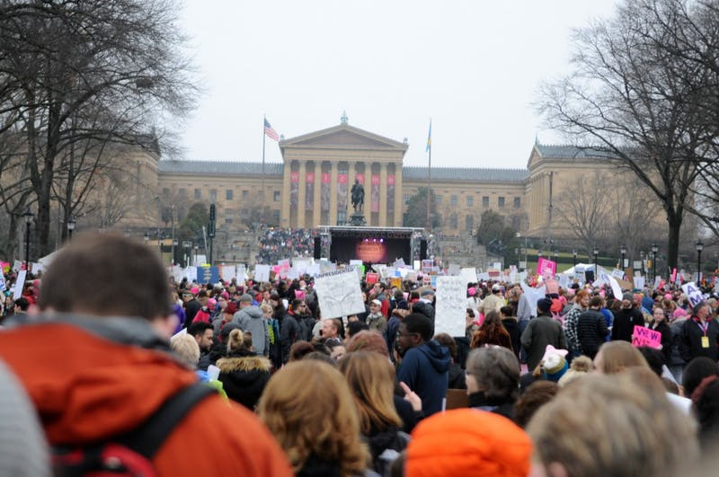 Photo Gallery | Thousands gather for the Philadelphia Women's March
