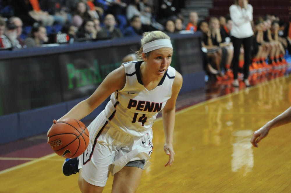 With 16 points on Friday, sophomore guard Beth Brzozowski helped lead Penn women's basketball to a 69-59 win over Brown, adding nine points off of free throws down the stretch.