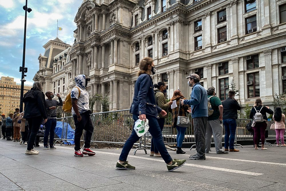 city-hall-voting-line-vote-election-2020
