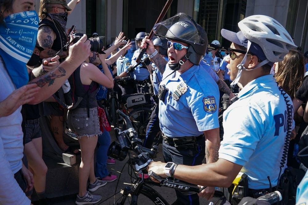 police-brutality-violence-philadelphia-protests-baton