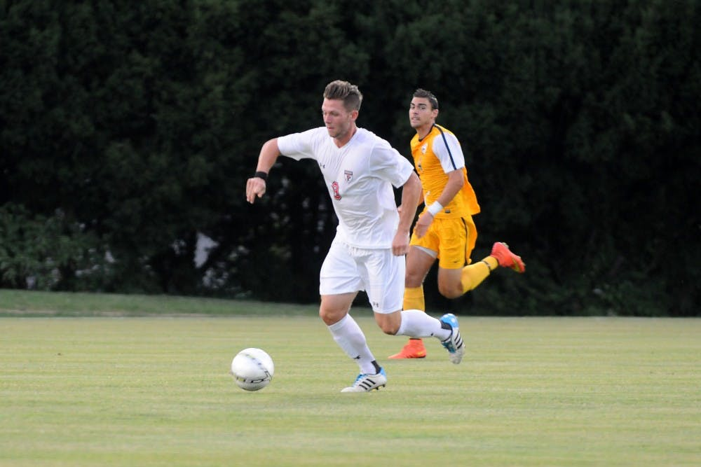 Men's Soccer vs. Drexel.  Men's soccer wins 2 - 0 home at Rhodes Field