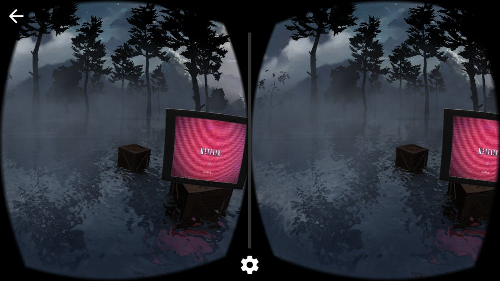 College seniors Reika Yoshino and Jun Xia hosted a mental health event that featured their creation ­– a virtual reality through Google Cardboard that simulates what it's like to have a mental illness. | Courtesy of Reika Yoshino and Jun Xia