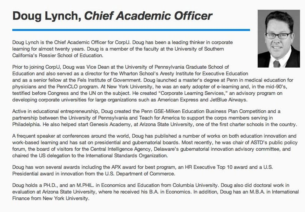 Former Gse Admin Doug Lynch Continues To Falsify Credentials The