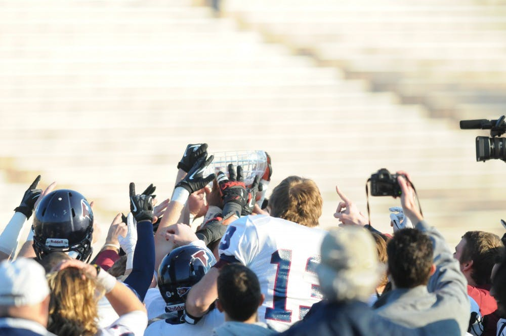 Football plays Cornell for the Ivy League title