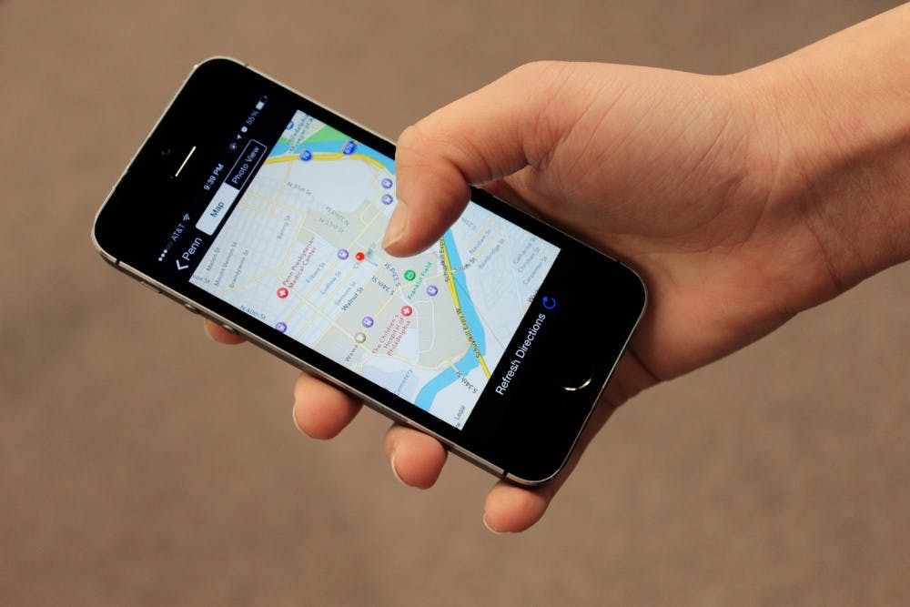 New mobile app guides Penn students around campus | The Daily ... on