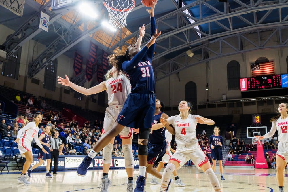 wbb-vs-cornell-woemns-basketball-eleah-parker