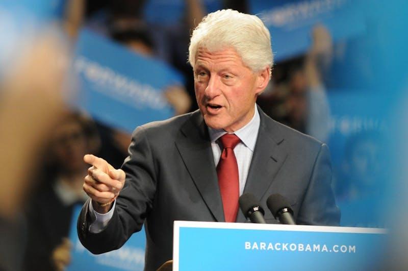 Bill Clinton at Penn