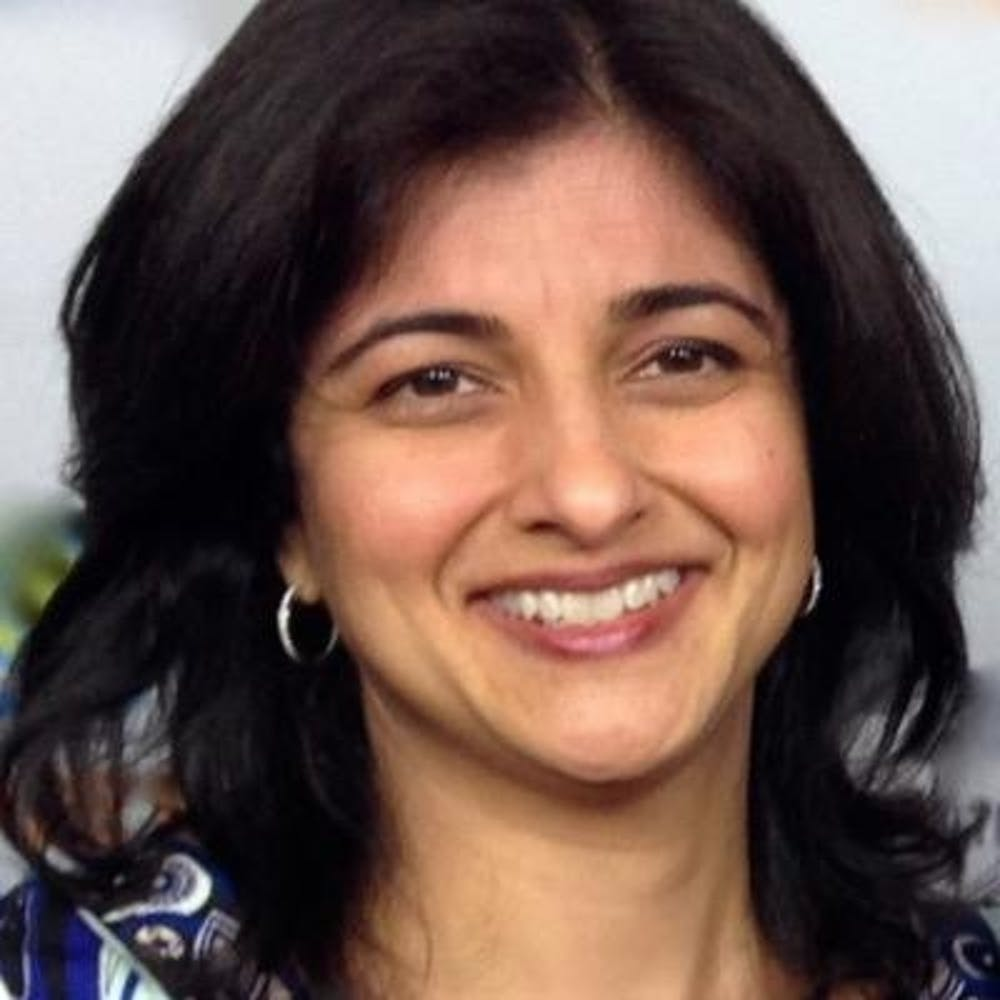 <p>Former Chief Investment Officer of the New York Pension Fund <strong>Seema Hingorani</strong></p>