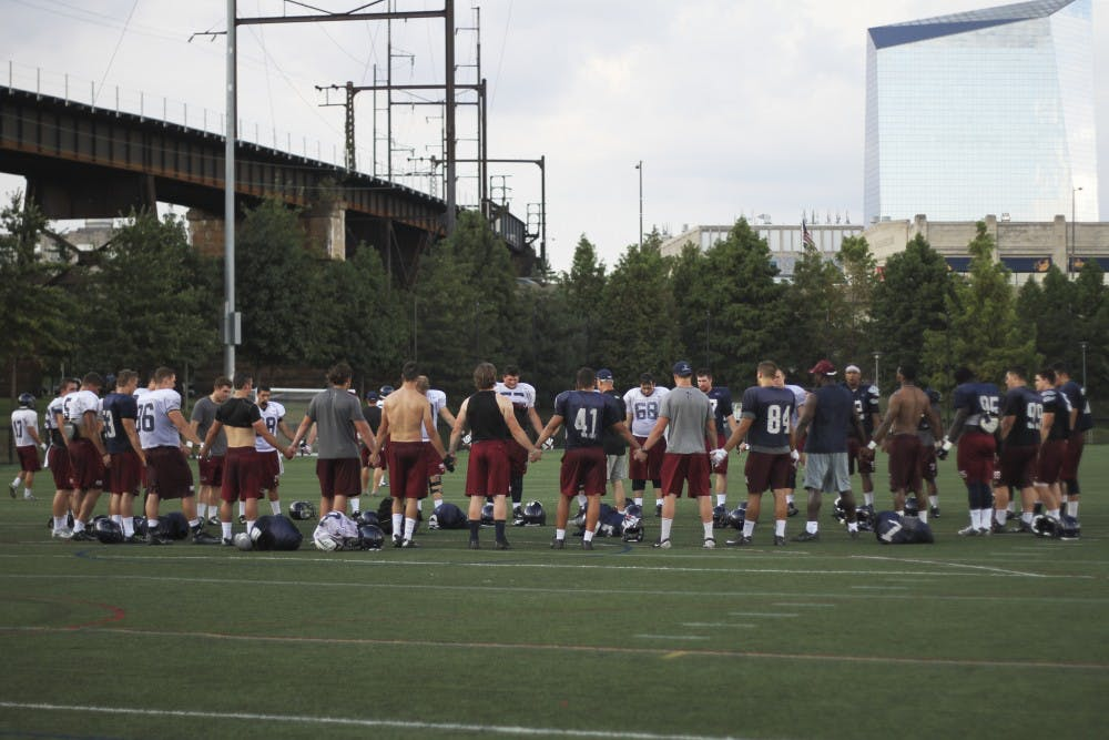 The prayer circle has established a special bond between players who deeply value their faith.