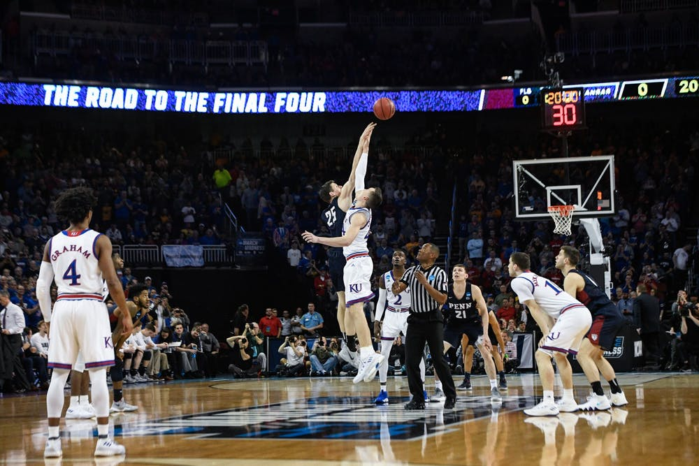 2018-mens-basketball-march-madness-vs-kansas-chase-sutton