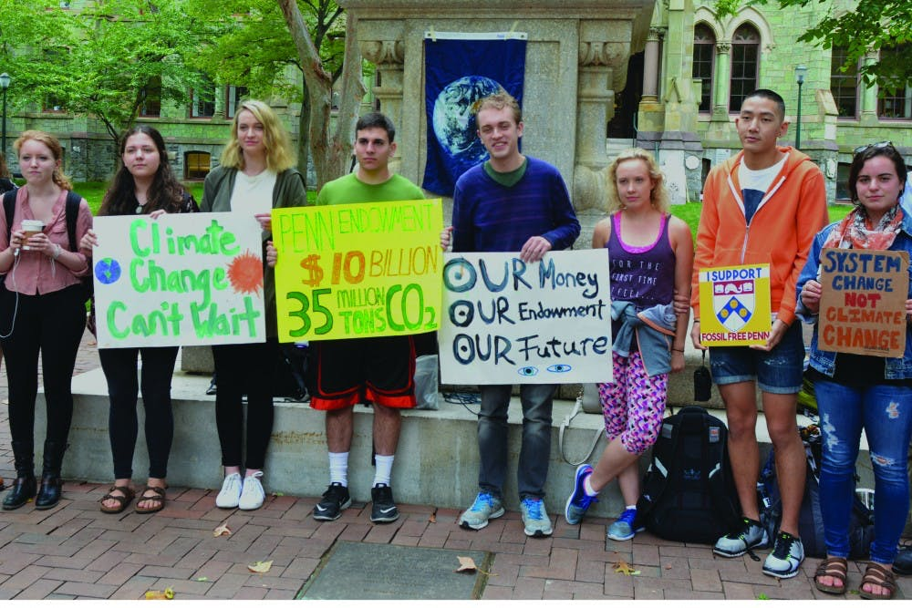 Fossil Free Penn reacts strongly against the decision by the Board of Trustees to refrain from divesting from fossil fuel industries.
