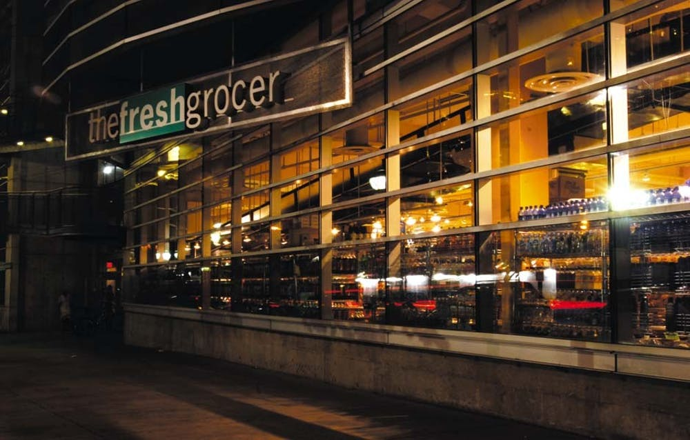 The Fresh Grocer has installed brakes on its carts to prevent theft.